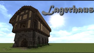 getlinkyoutube.com-Minecraft Tutorial - Lagerhaus bauen #1