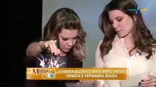 getlinkyoutube.com-Morning Show: Fernanda Souza relembra travessuras com Renata nos tempos de Chiquititas