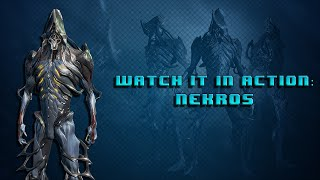 getlinkyoutube.com-Warframe Watch it in Action: Nekros Shield of Shadows, Desecrate, and Medic Builds!