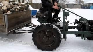 getlinkyoutube.com-Самодельный трактор ЗИД