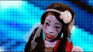getlinkyoutube.com-Geisha Davis Possesses the Britain's Got Talent 2012 Judges!