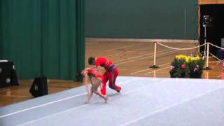 getlinkyoutube.com-Dynamic Routine, Heathrow Junior MXP- British Acrobatic Championships 2011