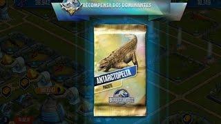 getlinkyoutube.com-Jurassic World - The Game - Antarctopelta Pack