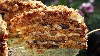 getlinkyoutube.com-США. Медовый торт.