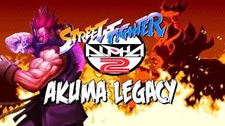 getlinkyoutube.com-SHIN AKUMA IS BORN - Akuma Legacy: Street Fighter Alpha 2