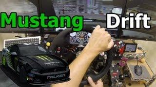 getlinkyoutube.com-rFactor Mustang Drift Cockpit Play in Shibuya