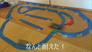 getlinkyoutube.com-プラアタック ミニ四駆VSプラレール A