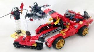 getlinkyoutube.com-레고 닌자고 카이의 X-1 닌자 차저 자동차 조립기 Lego 70727 Ninjago KAI's X1 Ninja Charger