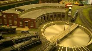 getlinkyoutube.com-The Blissfield Model Railroad Club's Spectacular HO Scale Layout!