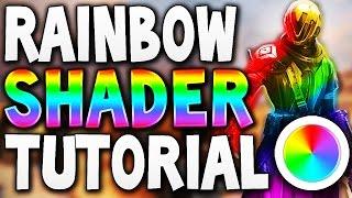 getlinkyoutube.com-Destiny - RAINBOW SHADER TUTORIAL !!