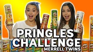 getlinkyoutube.com-PRINGLES CHALLENGE - Merrell Twins