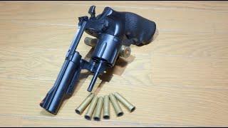 getlinkyoutube.com-次元大介の銃!クラウンのエアリボルバーS&W M19(10歳以上用)を購入!