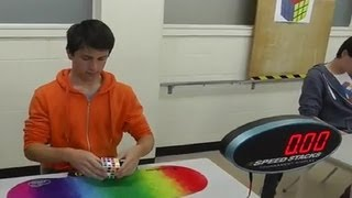 getlinkyoutube.com-Feliks Zemdegs - Fastest 4x4 Rubik's Cube Solves per competition as of 28 July 2013