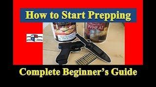 SHTF Survivalism How to Start Prepping