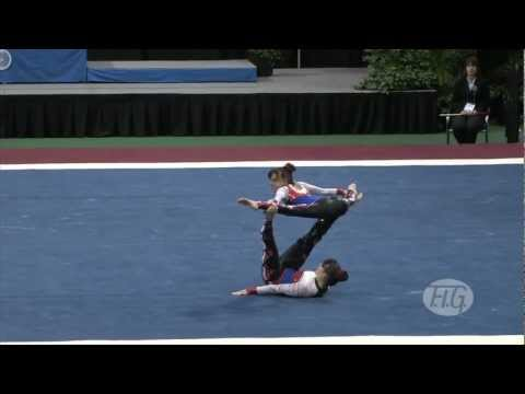 WC Orlando (USA) 2012 -- USA, Women's Pair