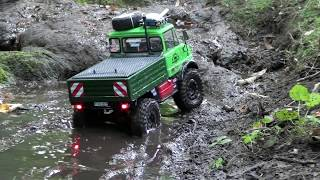 getlinkyoutube.com-tamiya cc01 unimog 406 trial