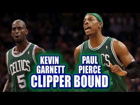 Clippers and Celtics block buster trade rumors  Pierce Garnett Griffin and more