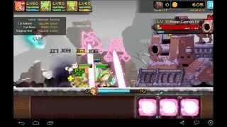 getlinkyoutube.com-Crusaders Quest - Kano Mew Mew test run in Tundra