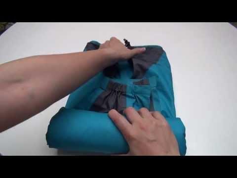 ■Extra Edition■ 「崩れない!」衣類の折りたたみ:How to fold  雨具 - Rainwear