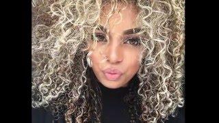 getlinkyoutube.com-DIYING MY HAIR BLONDE/ASH (highlights)