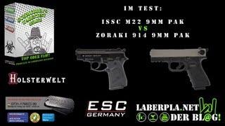 getlinkyoutube.com-Schmuddel's Warentest: ISSC M22 vs. ZORAKI 914 - 9mm PAK