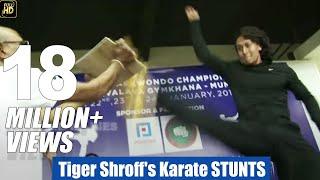 getlinkyoutube.com-Tiger Shroff's Live STUNTS Training For Baaghi LEAKED
