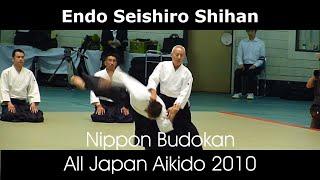 getlinkyoutube.com-Endo Seishiro Shihan Aikido Demonstration - 48th All Japan Aikido