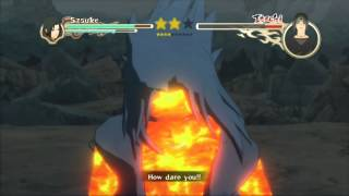 getlinkyoutube.com-Naruto Ultimate Ninja Storm 2 Sasuke Vs Itachi S-Rank HD (English)