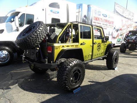 M1A1 Havoc Jeep JK SEMA 2011