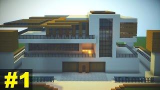 getlinkyoutube.com-Minecraft Tutorial: Casa Moderna (10) - parte 1
