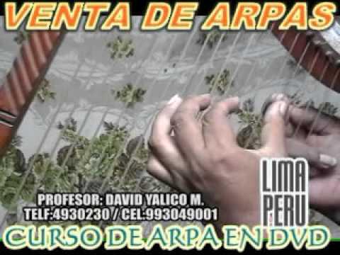 CLASES DE ARPA Y CANTO parte 18,CLASES EN DVD,VENTA DE ARPAS,VESTUARIOS.CEL:993049001 LIMA PERU