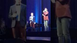 getlinkyoutube.com-David Archuleta and Nathan Pacheco ~ The Prayer~ Provo night 1