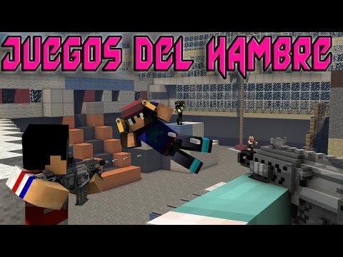 JUEGOS DEL HAMBRE SIN METRALLETAS EN MINECRAFT 1.7.2   SERVER PREMIUM   YOSOYYAZZ