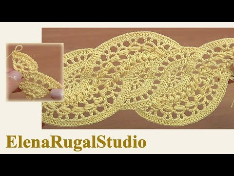 How to Make Wide Crochet Lace Demo Version Tutorial 28