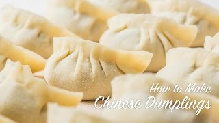 getlinkyoutube.com-How to Make Chinese Dumplings (recipe) 饺子