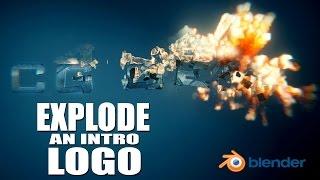 getlinkyoutube.com-Create a Logo Explosion Animation - Blender Tutorial