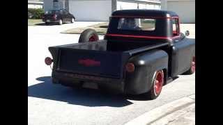 getlinkyoutube.com-1957 Chevy Truck Custom Ratrod look