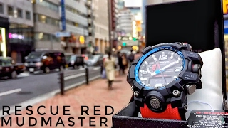 getlinkyoutube.com-G-Shock MUDMASTER GWG-1000RD-4AJF Rescue Red Master of G (unboxing + review)
