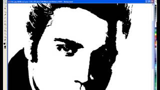 getlinkyoutube.com-CorelDraw - Creating Black and White Protrait Stytle Images