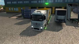 Euro Truck Simulator 2 - Parking Skills
