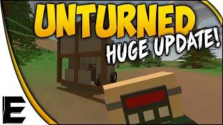 getlinkyoutube.com-Unturned HUGE UPDATE! ➤ Freeform Base Building & Makeshift Cars!