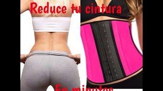 getlinkyoutube.com-Reduce tu cintura en minutos   faja moldeadora