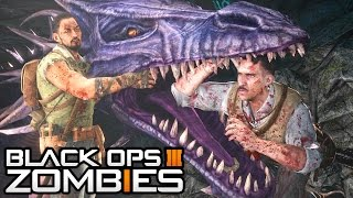 """Black Ops 3 Zombies - GIANT DRAGON! DLC 1 """"Der Eisendrache""""! (Black Ops 3 Zombies Gameplay)"""