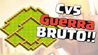 LAYOUT ÉPICO DE GUERRA - CV 5 - CLASH OF CLANS
