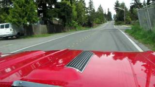 getlinkyoutube.com-1967 Chevelle SS 396 Red southern california car  !! lets drive