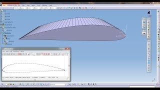 getlinkyoutube.com-Catia Aerospace NACA Airfoil or Aircraft Wing Create Tutorial