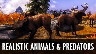 getlinkyoutube.com-Skyrim Mod: Realistic Animals and Predators