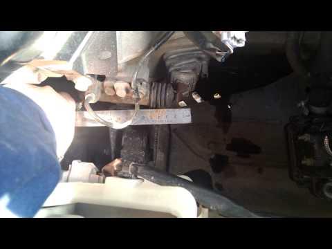 Ход вилки сцепления Corolla e120