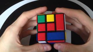 getlinkyoutube.com-Example solve of the bandage cube