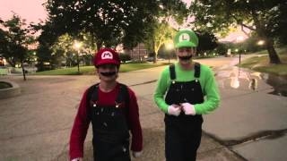 getlinkyoutube.com-Overcoming Fear - Super Mario Brothers Parkour